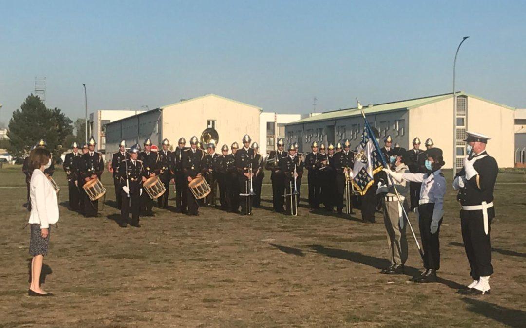 La ministre Florence Parly auprès de nos forces armées à Saint-Germain-en-Laye