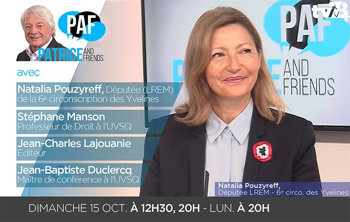 Intervention du 15 octobre sur PAF/ TV78
