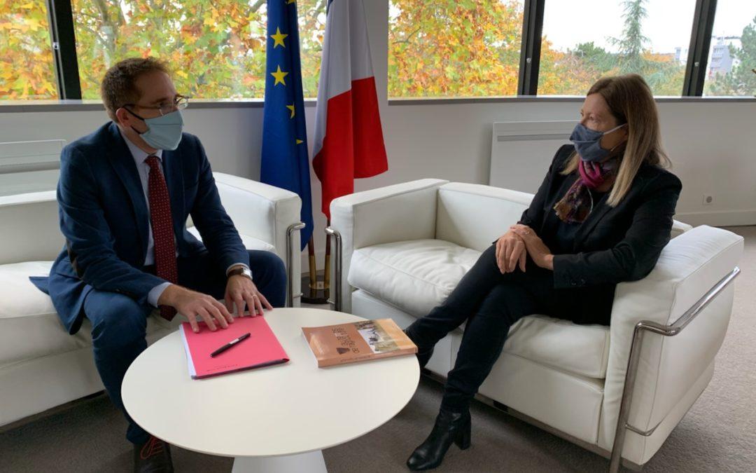 Échanges constructifs avec Eddie Ait, maire de Carrières-Sous-Poissy