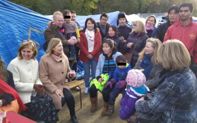 Presse – Rencontre des migrants tibétains et associations à Achères