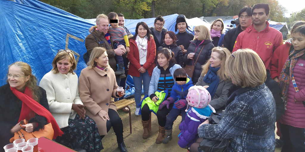 Presse – Rencontre des migrants tibétains et associations à Achères1 min read