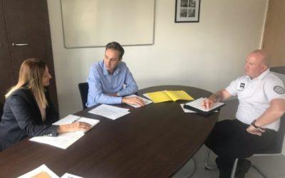 Bilan d'étape au Commissariat des Mureaux sur la loi contre les rodéos motorisés