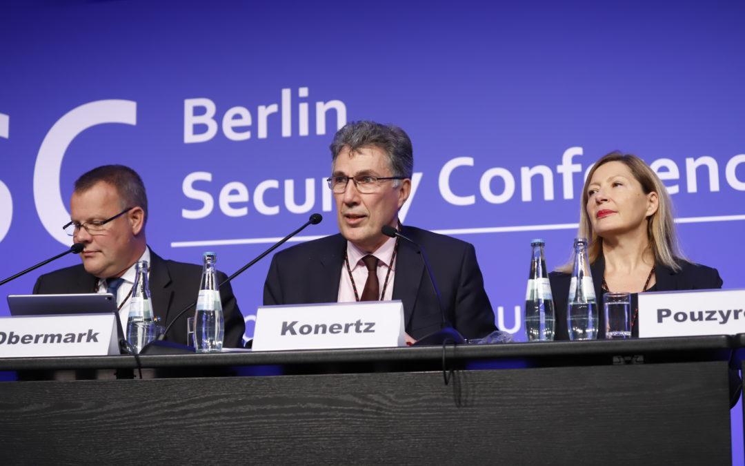 Conférence sur la sécurité européenne à Berlin