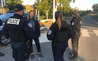 Opération contre les rodéos motorisés avec la police nationale du 78