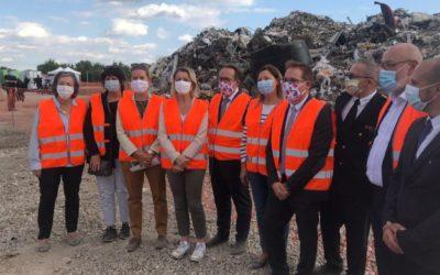 «Mer de déchets» : visite de la Ministre Barbara Pompili