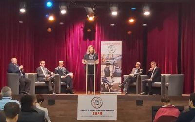 Discours au congrès de la police territoriale
