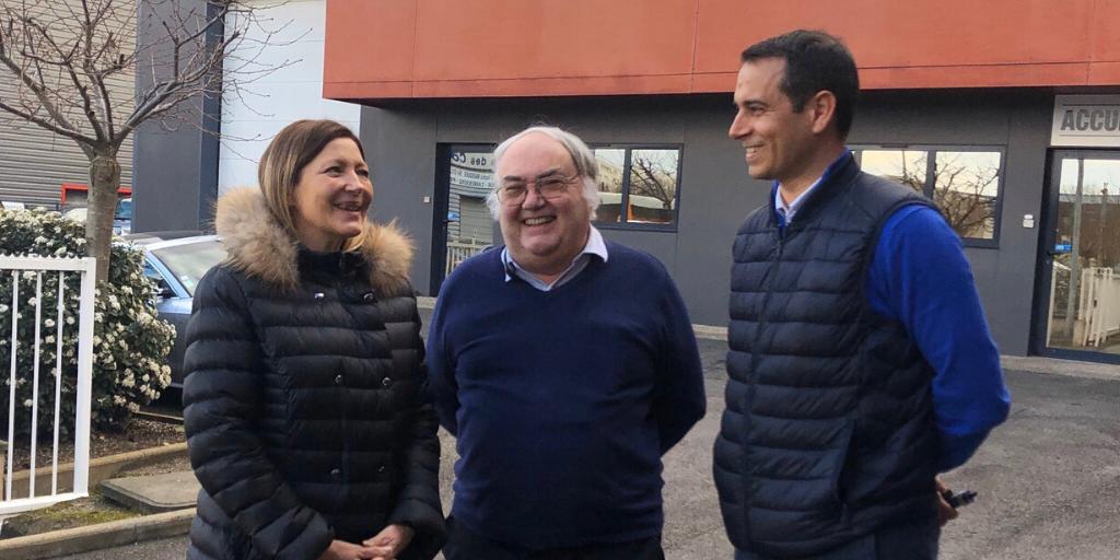 Visite d'EMC France à Achères