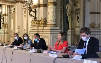 En déplacement à Lyon dans le cadre de l'évaluation de la loi renforçant la lutte contre les rodéos motorisés