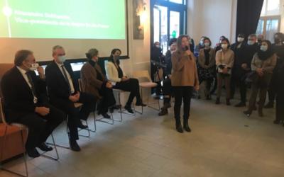 Inauguration du nouvel espace de La Ruche Saint-Germain-en-Laye