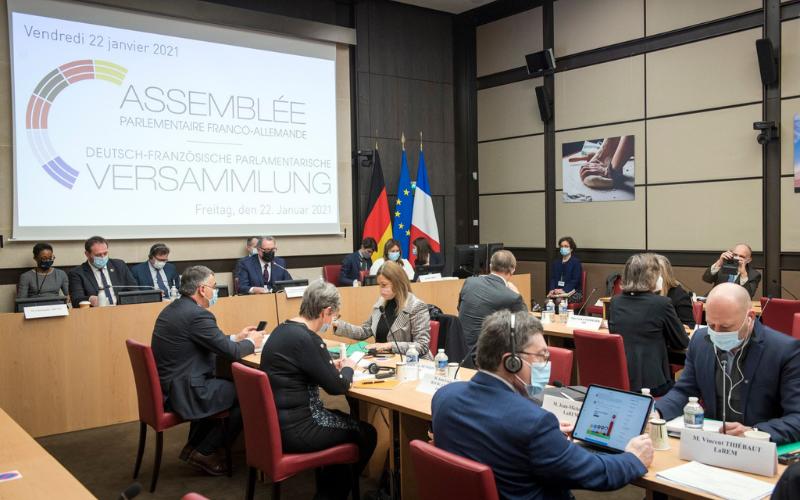 Élue membre du bureau de l'Assemblée parlementaire franco-allemande (APFA)