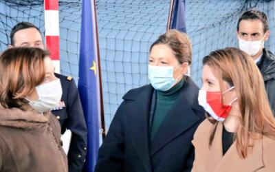 Nouveau logiciel de paie pour les armées : aux côtés de la Ministre Florence Parly