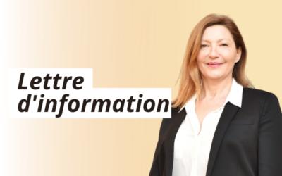 Lettre d'information n°2 – Mars 2021
