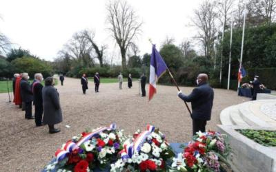 Hommage à nos morts, civils et militaires, de la guerre d'Algérie, des combats du Maroc et de la Tunisie