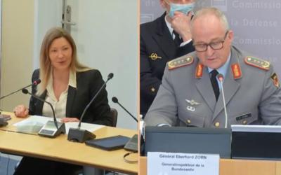 Commission défense – Audition du général Eberhard Zorn, Chef d'État-major de l'armée allemande