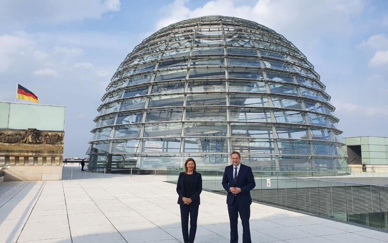 Rencontre au Bundestag avec les Députés allemands2 min read
