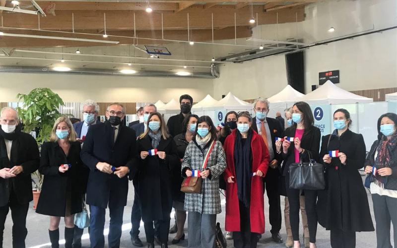 Ouverture du nouveau centre de vaccination intercommunal à Saint-Germain-en-Laye
