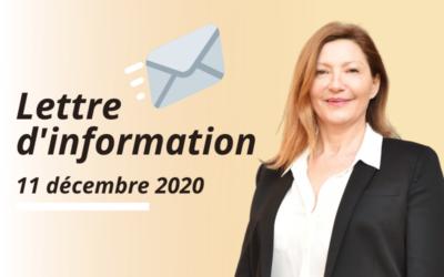 Lettre d'information – Décembre
