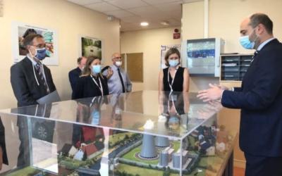 Au Vésinet pour une visite du site de l'Institut de radioprotection et de sûreté nucléaire (IRSN)