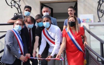 Inauguration de la Maison de la Jeunesse et de la Réussite à Carrières-sous-Poissy