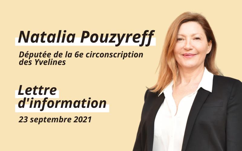 Lettre d'information – Septembre 2021