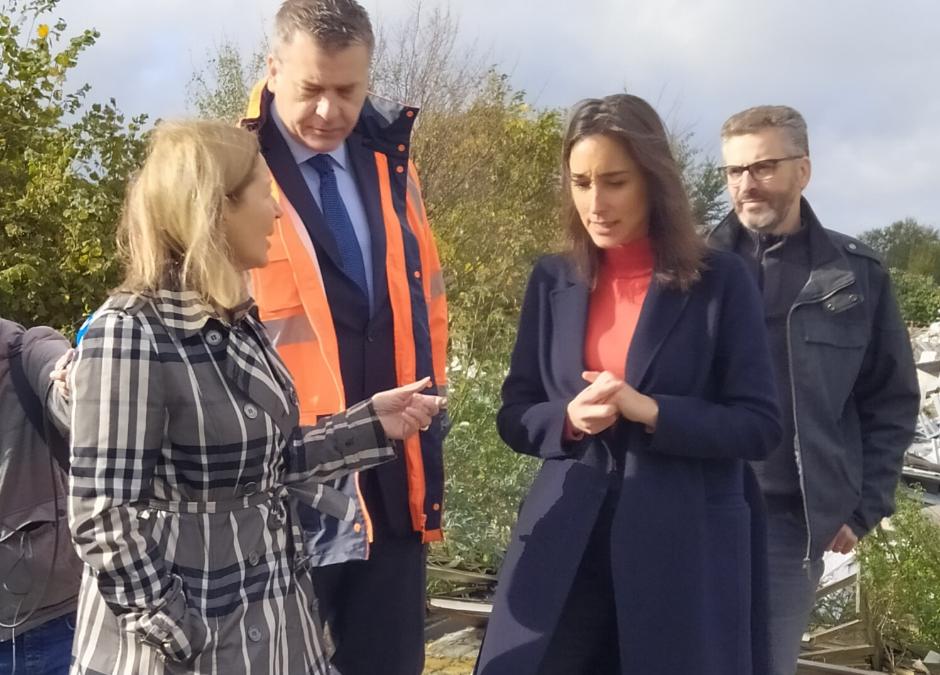 Communiqué de presse : visite de la Ministre Brune Poirson à la plaine de Carrières-sous-Poissy1 min read