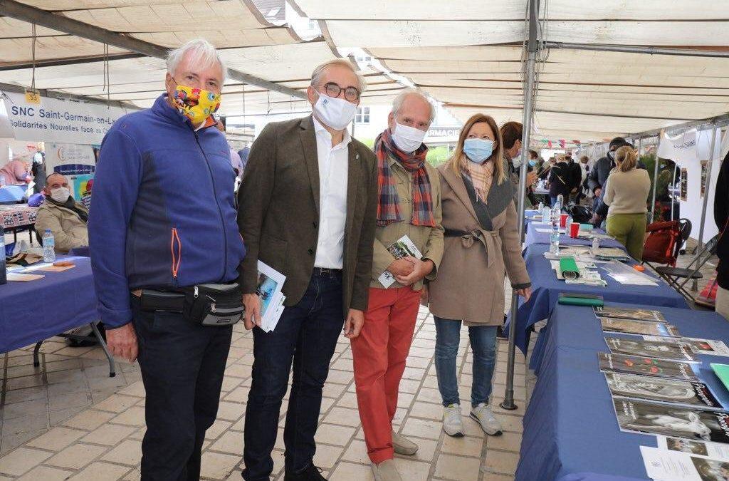 Soutenir nos associations à l'exposition organisée par la Maison des Associations de Saint-Germain-en-Laye