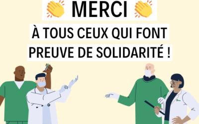 Des initiatives solidaires se multiplient sur notre territoire | Lettre d'information Covid-19 #2