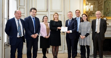 Remise du rapport du HCTISN sur le cycle du combustible au Ministre de la Transition Ecologique et Solidaire